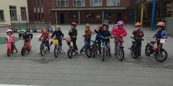 fietsen en feest voor Louie en Anays