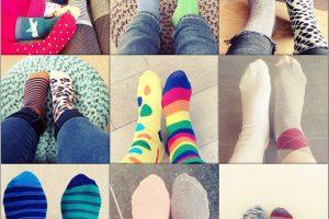 gekleurde sokken